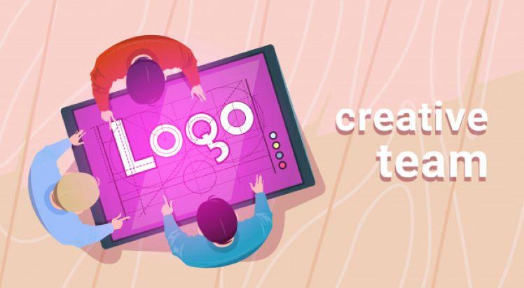 crating web logo